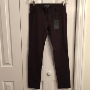 NWT Active USA size L Brown stretchy skinny pants